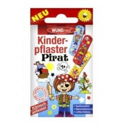 Plāksteri bērniem PIRATES WUND MED, 10 gab