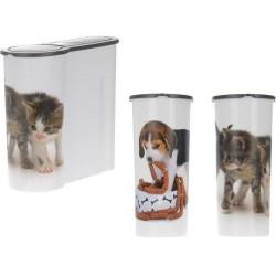 Dzīvnieku barības uzglabāšanās kaste  4L