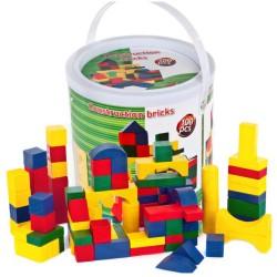 Игрушечные строительные блоки 100 шт.