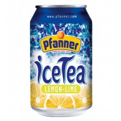 Ledustēja citronu, laima, 0.33l Pfanner