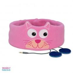 Bērnu galvas apsējs ar stereo austiņām CAT