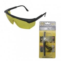 Aizsargbrilles, profesionālās/ dzeltenas