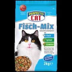 Perfecto Cat kompleksā sausā barība pieaugušiem kaķiem 1 kg