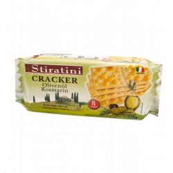 Krekeri ar olīvu eļļu un rozmarīnu STIRATINI, 250g