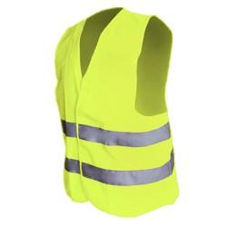 Bērnu drošības veste dzeltena