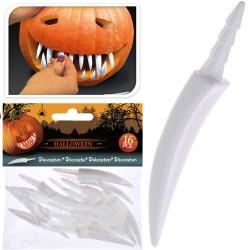 Dekoratīvie zobi Helovīnam, 16 gab.