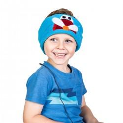 Bērnu galvas apsējs ar stereo austiņām PLANE