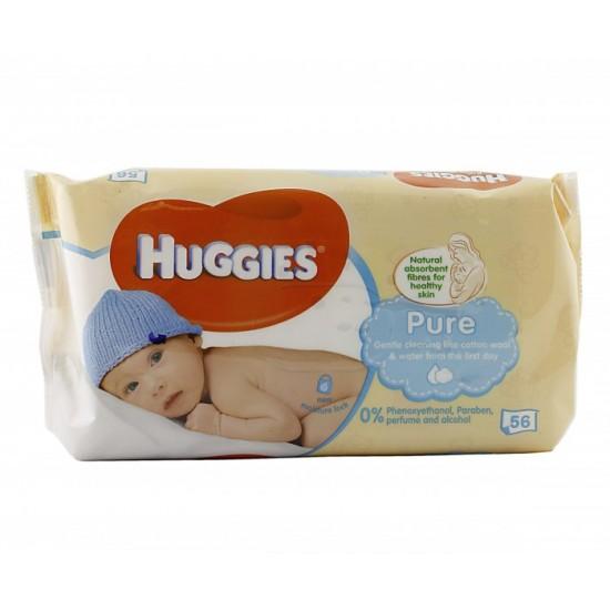 Салфетки Huggies PURE