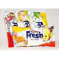 Влажные салфетки DF Fruity, 15 шт.