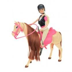 Lelle LAUREN ar zirgu