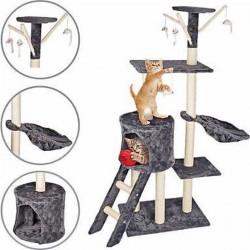 Kaķu māja/nagu asināšanas komplekts 140x50x35cm