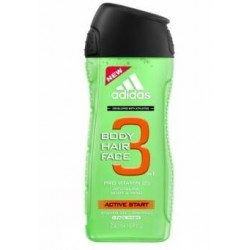 Dušas gels/šampūns Adidas, 400 ml