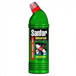 Tīrīšanas līdzeklis ar hloru tualetei Sanfor Universal 10 in