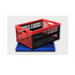 Складная пластиковая коробка макс. 30 кг, 48 x 35 x 23,5 см