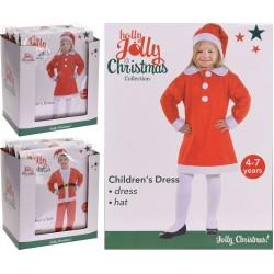 Ziemassvētku tērps bērniem NY