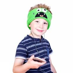 Bērnu galvas apsējs ar stereo austiņām MONSTER