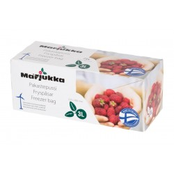 Marjukka Freezer bag 3 L 75pcs 75 pcs/roll.  Size: