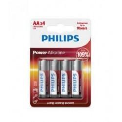 Baterijas LR6/AA PHILIPS Power Alkaline