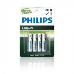 Baterijas Philips R3 AAA Longlife