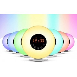 Modinātājpulkstenis ar LED/ FM GRUNDIG