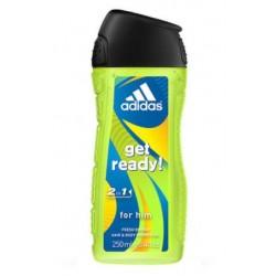 ADIDAS dušas želeja/šampūns 400ml Get Ready