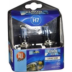 Automašīnas lampiņas 12v h4 kit xenon