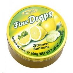 Karameles NORD ar citronu garšu 200 gr