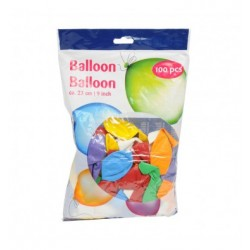 Baloni, 100 gab. 23cm