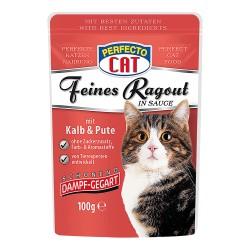 Perfecto Cat barība ar teļa/tītara gaļu 100 gr