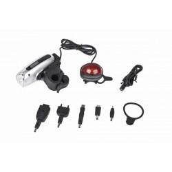 DINAMO фонарик + зарядное устройство