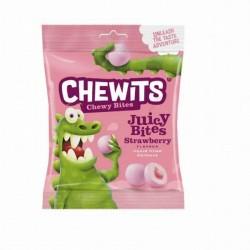 """CHEWITS Конфеты жевательные """"Juicy Bites"""" со вкусом ежевики"""