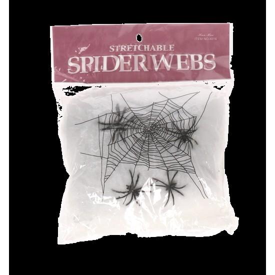 Zirnekļu tikls HALLOWEEN
