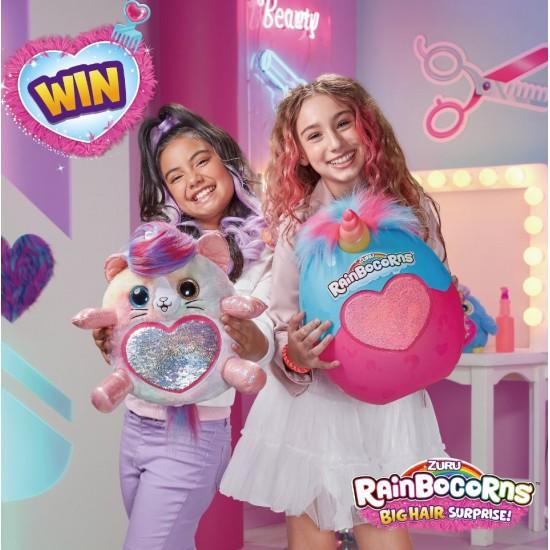 Mīksta rotaļlieta ar aksesuāriem Rainbocorns Big Hair Surpri