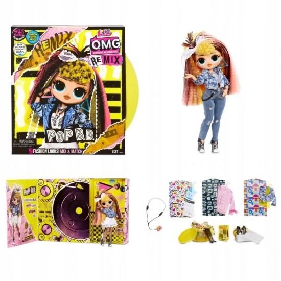 !L.O.L. LOL Surprise Pārsteiguma lellīte OMG Remix Doll: Pop
