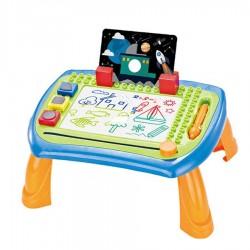 Magnētiska tāfele zīmēšanai-galdiņš