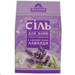 Sāls vannai ar ēterisku eļļu (lavanda) 500 gr