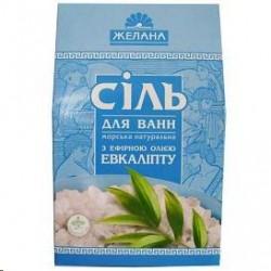 Sāls vannai ar ēterisku eļļu (eikalipts), 500 gr