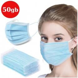 Sejas maskas 3-slāņu | 50gb