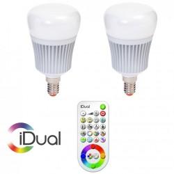 Interaktīvās spuldzes LED-SMD/COB, 2 gab